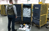 У Борисполі вилучили сімсот нелегальних посилок