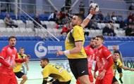 Гандболисты сборной Украины уступили России в отборе Евро-2022