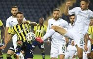 Кравец забил гол в ворота Фенербахче