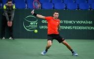 Стаховский пробился во второй круг турнира в Братиславе