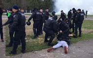 В матче Первой лиги полиция избила фанов Волыни