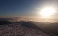 Опубликовано зрелищное видео с высокогорья Карпат