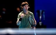 Рублев завершил выступление на Итоговом турнире победой над Тимом