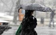 Погода на вихідні: Україну накриє дощ з мокрим снігом