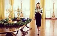Мелания Трамп подготовила Белый дом к праздникам