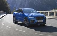 Jaguar представив новий хетчбек F-Pace SVR