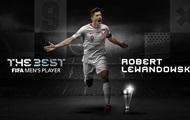 Левандовски обошел Месси и Роналду и стал лучшим игроком 2020 года