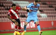 Ярмоленко  лучший среди игроков атаки Вест Хэма в матче против Саутгемптона
