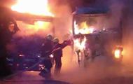 На окраине Риги загорелся тростник: пожарные надеются на дождь