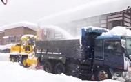 В Японии число жертв снегопадов выросло до восьми