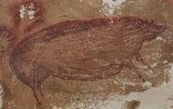 В Индонезии нашли древнейший наскальный рисунок