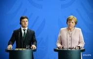 Зеленський і Меркель поговорили про Донбас