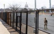 У центрі Вашингтона загородили периметр безпеки до інавгурації Байдена