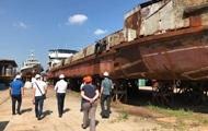 СБУ викрила розкрадання грошей під час ремонту судна Держгідрографії