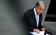 Генсек ООН назвал 2020-й «годом смерти и отчаяния»
