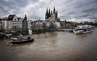 Наводнение в Германии: Рейн вышел из берегов