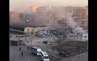 В РФ после взрыва обрушился торговый центр