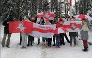 В Беларуси лыжников обвинили в проведении митинга