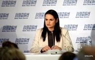 Тихановская заявила о временном проигрыше белорусской оппозиции