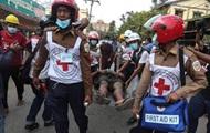 На протестах в Мьянме убиты два человека