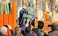 В Испании демонтировали последний памятник Франко