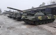 ЗСУ отримали модернізовані танки Т-72