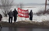 Тарифный протест: в Лубнах перекрыли трассу