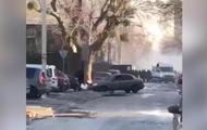 В Киеве стреляли по активистам у стройки