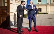 Зеленський і Мішель проводять зустріч у Києві