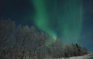 В Финляндии наблюдалось северное сияние