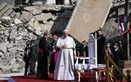 Как жестоко : Папа Римский приехал в Мосул