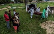 В Бразилии обновлен рекорд суточной COVID-смертности