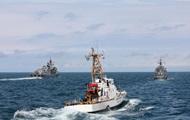 Корабли Грузии и НАТО провели учения в Черном море