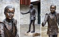 В Британии появился памятник Грете Тунберг