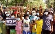 Более 40 детей убиты на протестах в Мьянме — правозащитники