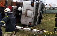 На Черниговщине задавило водителя автокрана