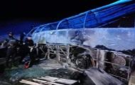 В Египте сгорел автобус с пассажирами