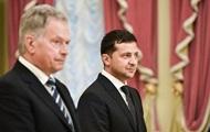 Зеленський обговорив гібридні загрози з президентом Фінляндії