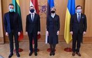Країни Балтії підтримали курс України в ЄС і НАТО
