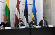Глави МЗС країн Балтії та України звернулися до РФ