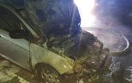 Под Луцком сожгли авто журналиста