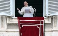 Папа Римський закликав зняти напругу на Донбасі