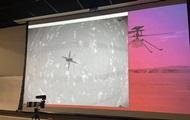 На Марсе провели первый полет вертолета