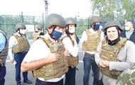 Главы МИД трех стран прибыли на Донбасс