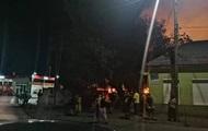 На Закарпатье загорелся лагерь ромов