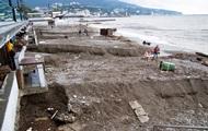 На южном берегу Крыма сошли селевые потоки