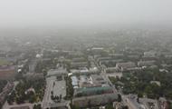 Небо Украины затянула пылевая завеса