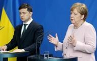Меркель слідом за Путіним поговорила із Зеленським