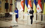 Зурабішвілі: Відносини з Україною нормалізуються