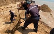Обвал ґрунту в Одеській області: загиблих і постраждалих не виявлено